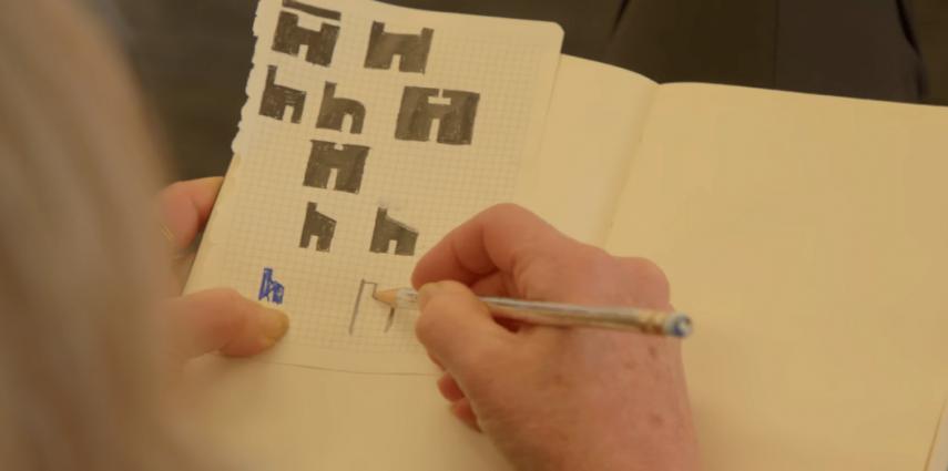 Houzz dévoile un nouveau logo qui ressemble à un 'h' et à une maison à la fois. En plus de simplifier le logo Houzz, la marque voulait qu'il représente une maison. Il a étéconçu en collaboration avec la designer graphiquePaula Scher!
