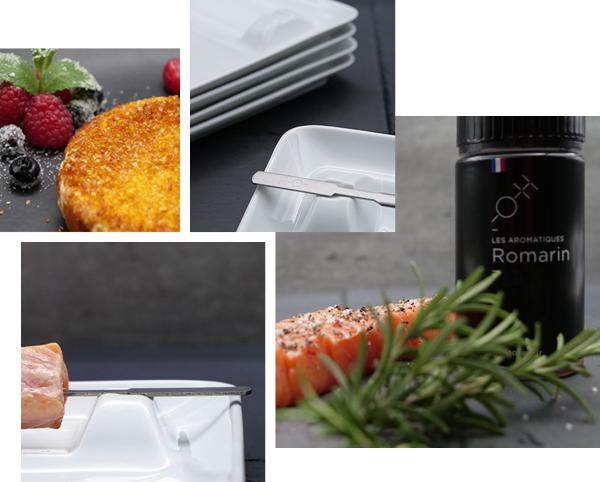 L'agence DRP présente une nouvelle marque positionnée sur les Arts de la Table et à la Cuisson Oh Cinq Sens
